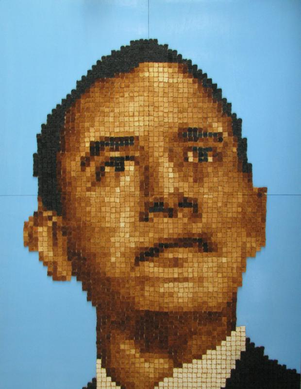 USA President Barack Obama - Barack toasted